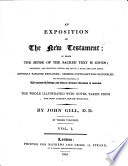 An Exposition Of The New Testament Etc