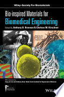 Bio inspired Materials for Biomedical Engineering Book