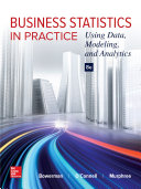 Business Statistics in Practice  Using Data  Modeling  and Analytics Book PDF