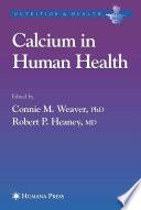 Calcium in Human Health