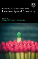 Handbook of Research on Leadership and Creativity