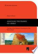 Analysing the Frames of a Bible