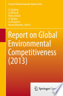 Report on Global Environmental Competitiveness (2013)