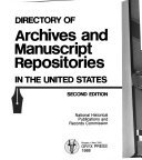 Directory of Archives and Manuscript Repositories in the United States