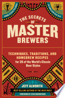 The Secrets of Master Brewers Book