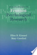 Innovations in Feminist Psychological Research  , Band 23,Teil 12