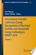 International Scientific Conference Energy Management of Municipal Facilities and Sustainable Energy Technologies EMMFT 2019 Book