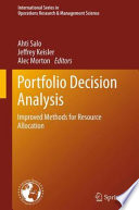 Portfolio Decision Analysis