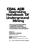 Coal Age Operating Handbook of Underground Mining