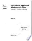 Information Resources Management Plan