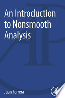 An Introduction to Nonsmooth Analysis Book