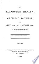 THE EDINBURGH REVIEW  OR CRITICAL JOURNAL  FOR JULY  1850   OCTOBER  1850