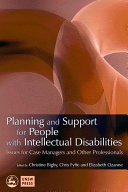 Cover of Planning and Support for People with Intellectual Disabilities