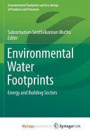 Environmental Water Footprints Book PDF