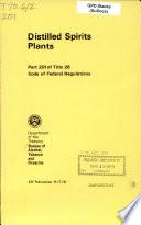 Distilled Spirits Plants Book