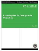 Screening Men for Osteoporosis