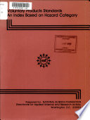 Voluntary Products Standards Book