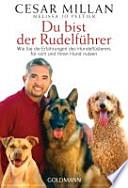 Du bist der Rudelführer  : Wie Sie die Erfahrungen des Hundeflüsterers für sich und Ihren Hund nutzen