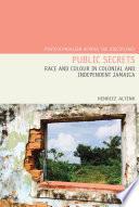 Public Secrets Book
