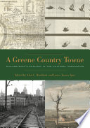 A Greene Country Towne  : Philadelphia's Ecology in the Cultural Imagination