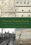 A Greene Country Towne [Pdf/ePub] eBook