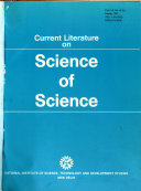 Current Literature On Science Of Science Book PDF