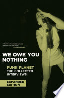 We Owe You Nothing Book