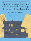Pdf Architectural Details and Measured Drawings of Houses of the Twenties