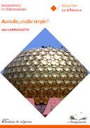 Auroville, un aller simple