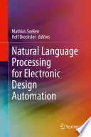 Natural Language Processing for Electronic Design Automation Book