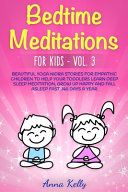 Bedtime Meditations For Kids Vol 3 Book