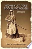 Women At Fort Boonesborough 1775 1784