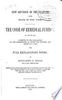 The Code of Remedial Justice   L  1876  Ch  448