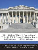 2011 Code Of Federal Regulations