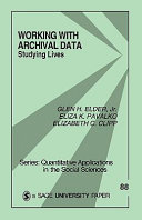 Working With Archival Data