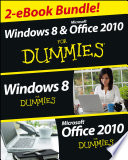 Windows 8 Office 2010 For Dummies Ebook Set