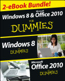 Windows 8 & Office 2010 For Dummies eBook Set