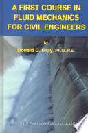 A First Course In Fluid Mechanics For Civil Engineers Book PDF