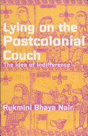 Lying on the Postcolonial Couch ebook