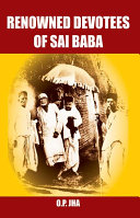 Pdf Renowned Devotees of Sai Baba Telecharger