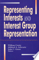 Representing Interests and Interest Group Representation