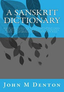 The Practical Sanskrit English Dictionary [Pdf/ePub] eBook