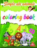 Simple ABC Animals Coloring Book for Kids   Toddlers