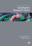 The SAGE Handbook of Qualitative Research Ethics