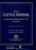 The Essential Formbook