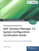 SAP Solution Manager 7.2 System Configuration Certification Guide