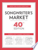 Songwriter's Market 2017  : Where and How to Market Your Songs