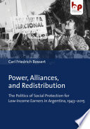 Power Alliances And Redistribution