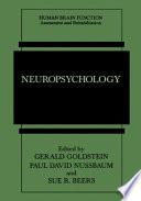 Neuropsychology Book