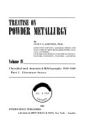 Treatise on Powder Metallurgy